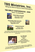 TBS Ministries Bible Conferences