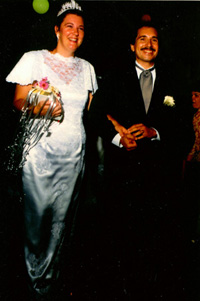 Tony and Barb Sistelos Wedding Picture - September 4, 1993